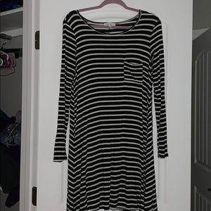 Soft Striped Dress